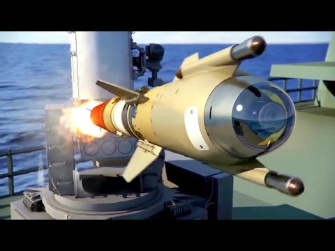 NAVSEA & Raytheon - SeaRAM Anti-Ship Supersonic Missile Defense System [720p]