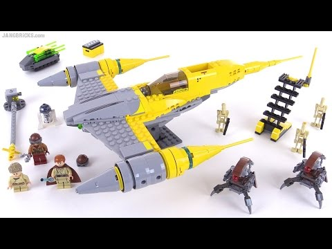LEGO Star Wars 2015 Naboo Starfighter review! set 75092 - YouTube