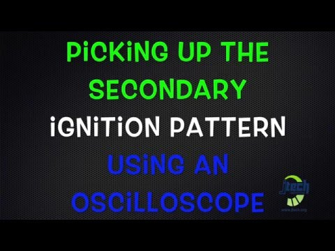 secondary ignition pickup sensor probe schematic diagram picking up the secondary ignition pattern using an oscilloscope  picking up the secondary ignition