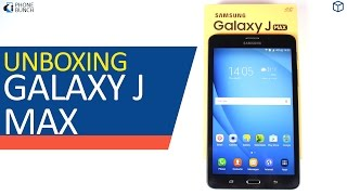 Samsung Galaxy J Max Unboxing (7-inch VoLTE Tablet) and Top 5 Features