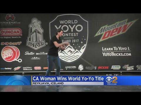California Woman Wins World Yo-Yo Title