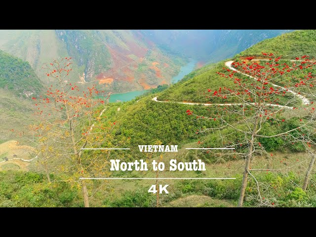 Vietnam from North to South by Drone | Welcome to Vietnam (4K UHD)
