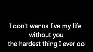 Nick Carter Falling down Lyrics