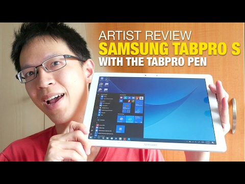 Artist Review: Samsung TabPro S With Galaxy C Pen