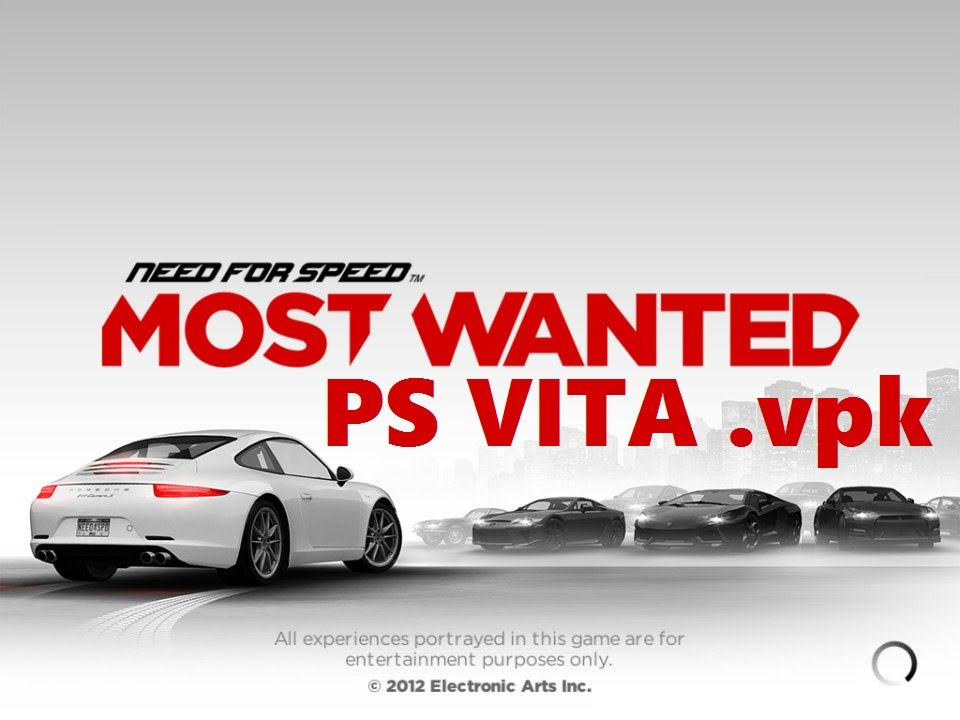 Need For Speed Most Wanted Ps Vita Vpk Youtube