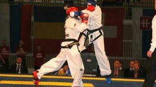 Katya Solovey (Ukraine) vs. Anna DД…browska (Poland) - Final -56kg - Euros 2013, Skovde