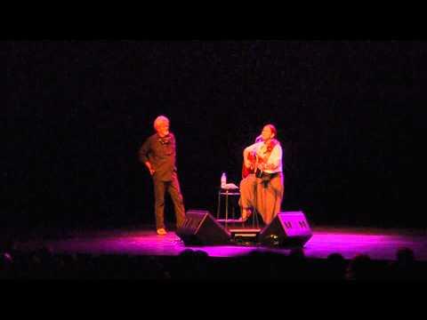 Marta Gomez and Kris Kristofferson