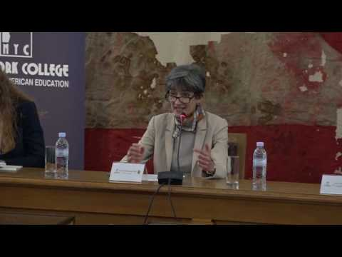 """Britain and Europe - Post Brexit"" NEW YORK COLLEGE & ΠΑΝΕΠΙΣΤΗΜΙΟ ΤΟΥ BOLTON, M. BΡETANIA"