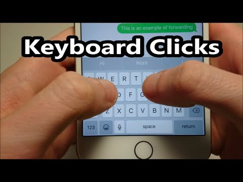 IOS Keyboard Clicks Sound Turn Off Or On IPhone 7