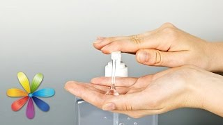 как сделать антисептик своими руками за 5 минут в домашних условиях от вирусов и бактерий