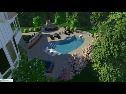 Perfect Pools Swimming Pool Design & Build Renovation, Oakton VA