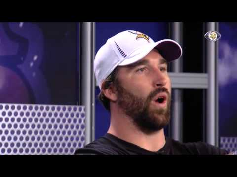 Jared Allen describes new Vikings helmet
