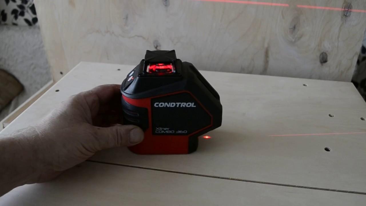 CONDTROL COMBO 360 .обзор новинки лазерного уровня. - YouTube