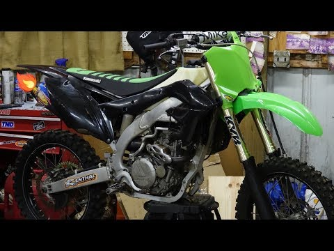 SO...IT WONT START. | 2013 KX450F Build Part 6