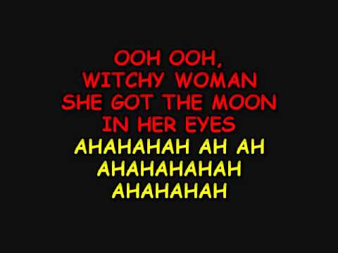 Witchy woman-The Eagles[Karaoke]