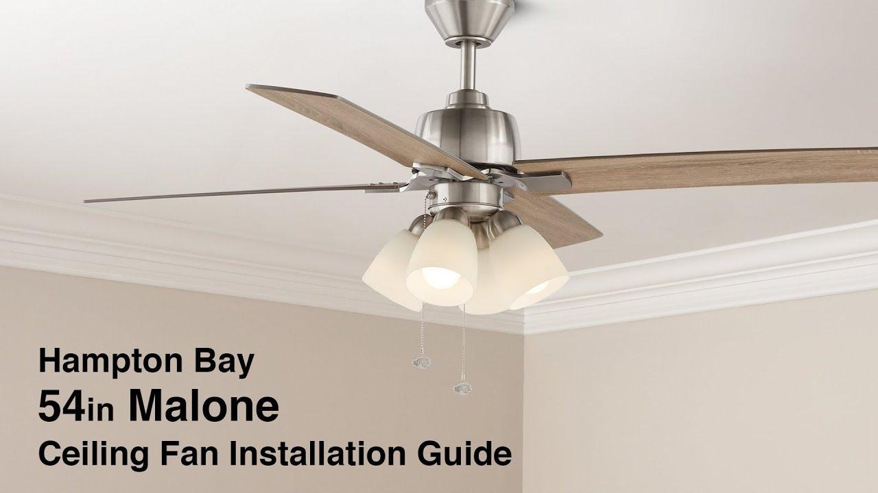 Malone Ceiling Fan Installation Guide