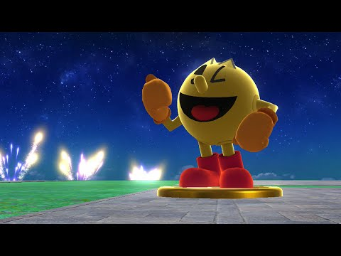 Super Smash Bros For Wii U - Classic Mode With Pac Man (9.0 Intensity)