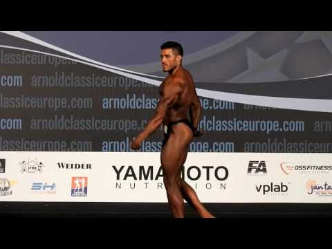 Ionut Marasoiu - Poseing Routine Arnold Classic Europe 2016- Classic Bodybuilding 180 Cm