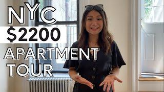 WHAT $2200 WILL GET YOU IN NYC |2020 NYC APARTMENT TOUR  UPPER EAST SIDE MANHATTAN| ALRENCE TRINONA