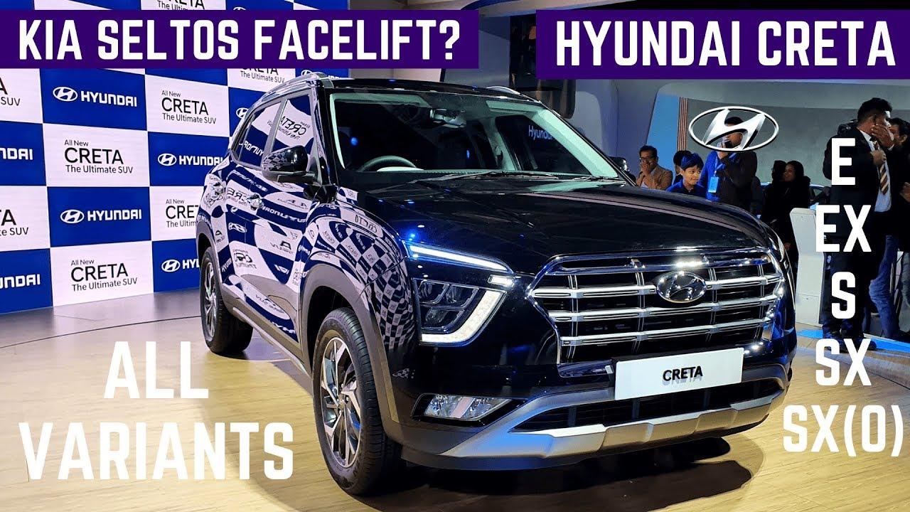 2020 Hyundai Creta All Variants Details Review Hyundai Creta 2020 Price Features Interiors Youtube
