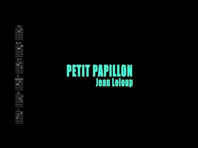 jean-leloup-petit-papillon-avec-paroles-jean-leloup-a-paradis-city-karaoke-guitare