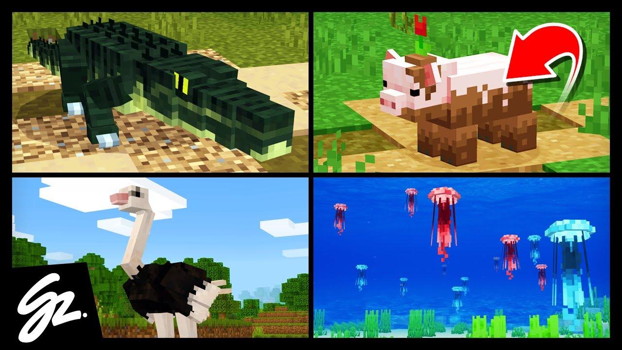 8 Animals That Should Be In Minecraft Minecraft Videos
