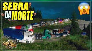 FOMOS na SERRA MAIS PERIGOSA do MUNDO! PROMODS MP 2.42  - Euro Truck Simulator 2 Multiplayer 😱