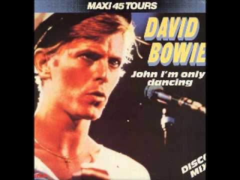 David Bowie John I'm Only Dancing (Disco Mix)