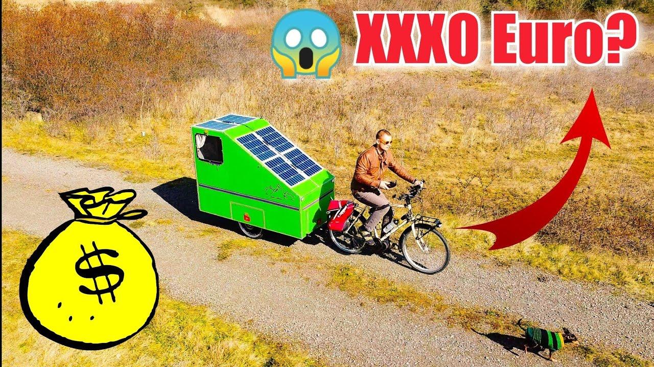 Was Hat Der Fahrradwohnwagen Gekostet Was Wurde Ich Das