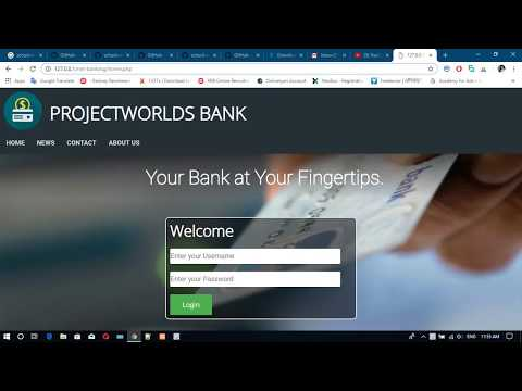 Online Banking System Project In PHP