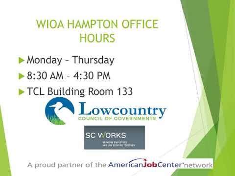 WIOA Workforce Development 2 12 18
