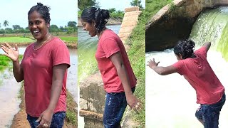 """""""கவர்ச்சியில் குதித்து விளையாடும் சூர்யா"""" Rowdy Baby Surya Vlog Video From Her Native Village"""