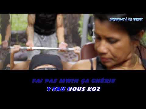 Cédric - Fai pas mwin ça - Karaoké (Chanté)