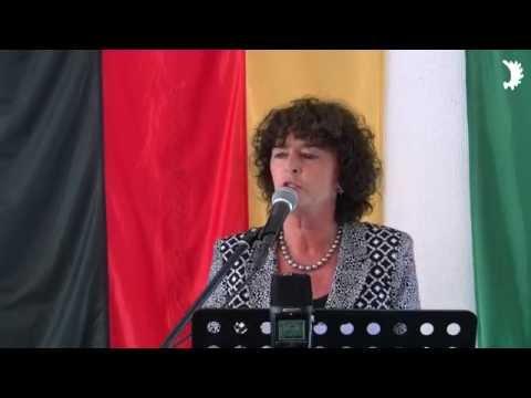 Vizelandrätin Luise Fruhen (CDU) würdigt die Integration der  Vertriebenen im Kreis Viersen