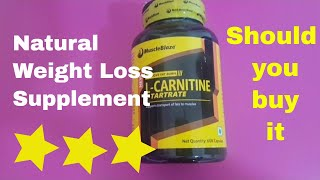 Carnitine Weight Loss Supplement - Muscleblaze Unboxing and Review