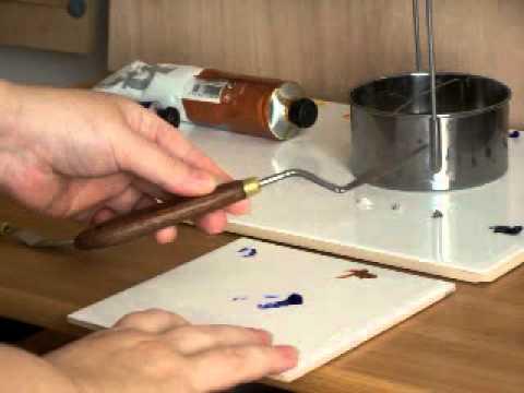 Palette De Sandy Taillan - Peinture À L'Huile - Youtube