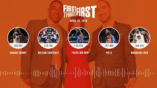 First Things First audio podcast (4.16.19)Cris Carter, Nick Wright, Jenna Wolfe   FIRST THINGS FIRST
