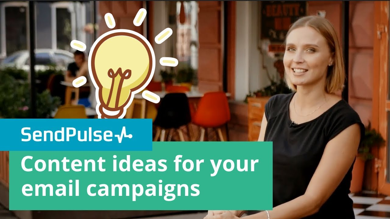 Content ideas for your email campaigns