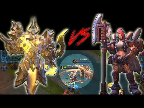 URANUS VS HILDA - Which passive is better? - MOBILE LEGENDS