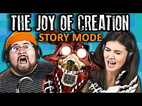 TEENS & COLLEGE KIDS PLAY JOY OF CREATION: STORY MODE | Horror Game (React: Gaming)
