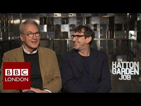 Larry Lamb & Phil Daniels 'The Hatton Garden Job' interview - BBC London News
