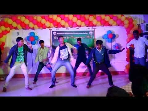 Meghallo Dancing Nenu Song Ambedkar University Freshers 2017 Party