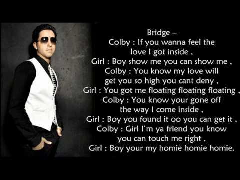 Colby O'Donis - Georgia Peach ( lyrics on screen )