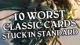 The 10 Worst Classic Cards Stuck in Standard Format Forever - Hearthstone