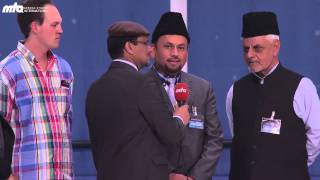 Impressions and interviews from distinguished  Jalsa guests Part 2/2 - Jalsa Salana Germany 2013