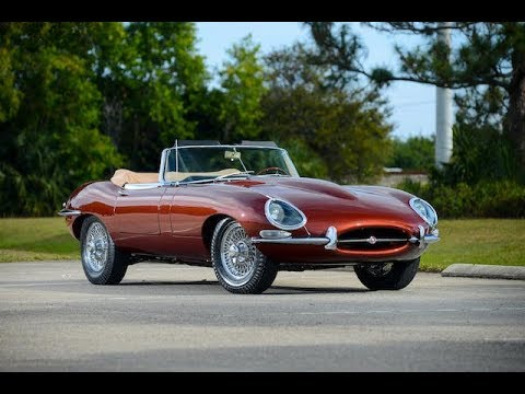 1966 JAGUAR E TYPE SERIES 1 4.2 ROADSTER