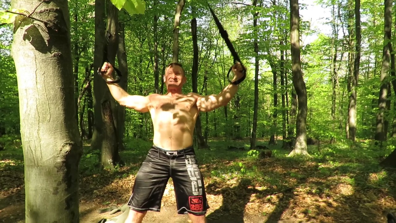 Be Natural, Train Hard, Forest workout - YouTube