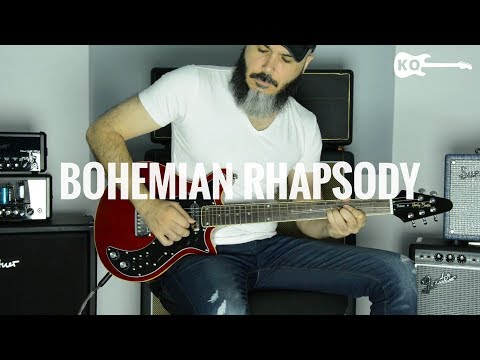 Queen - Bohemian Rhapsody - Electric Guitar Cover by Kfir Ochaion