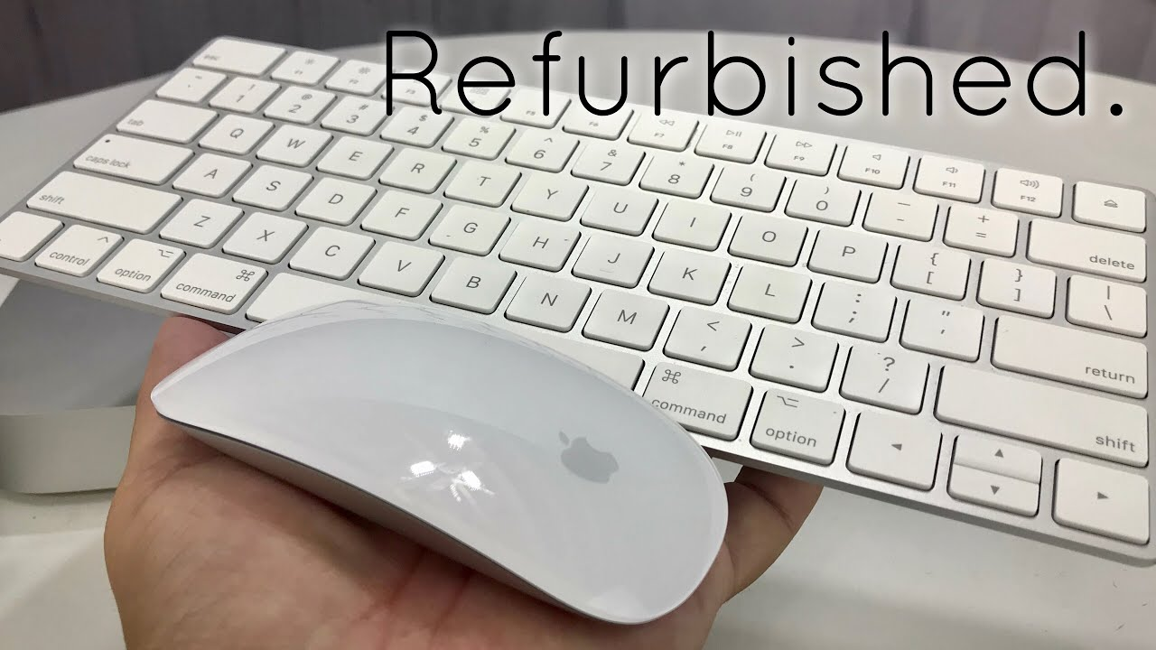 d8726c2d417 Refurbished Apple Wireless Magic Keyboard 2 and Magic Mouse 2 Review ...