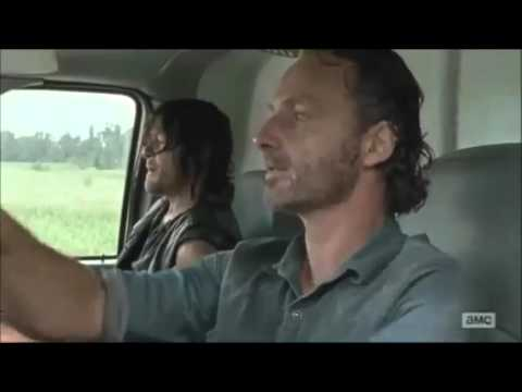 "The Walking Dead ""Dukes of Hazzard"" Jesus Chase Scene - S7 Miss the good old days"